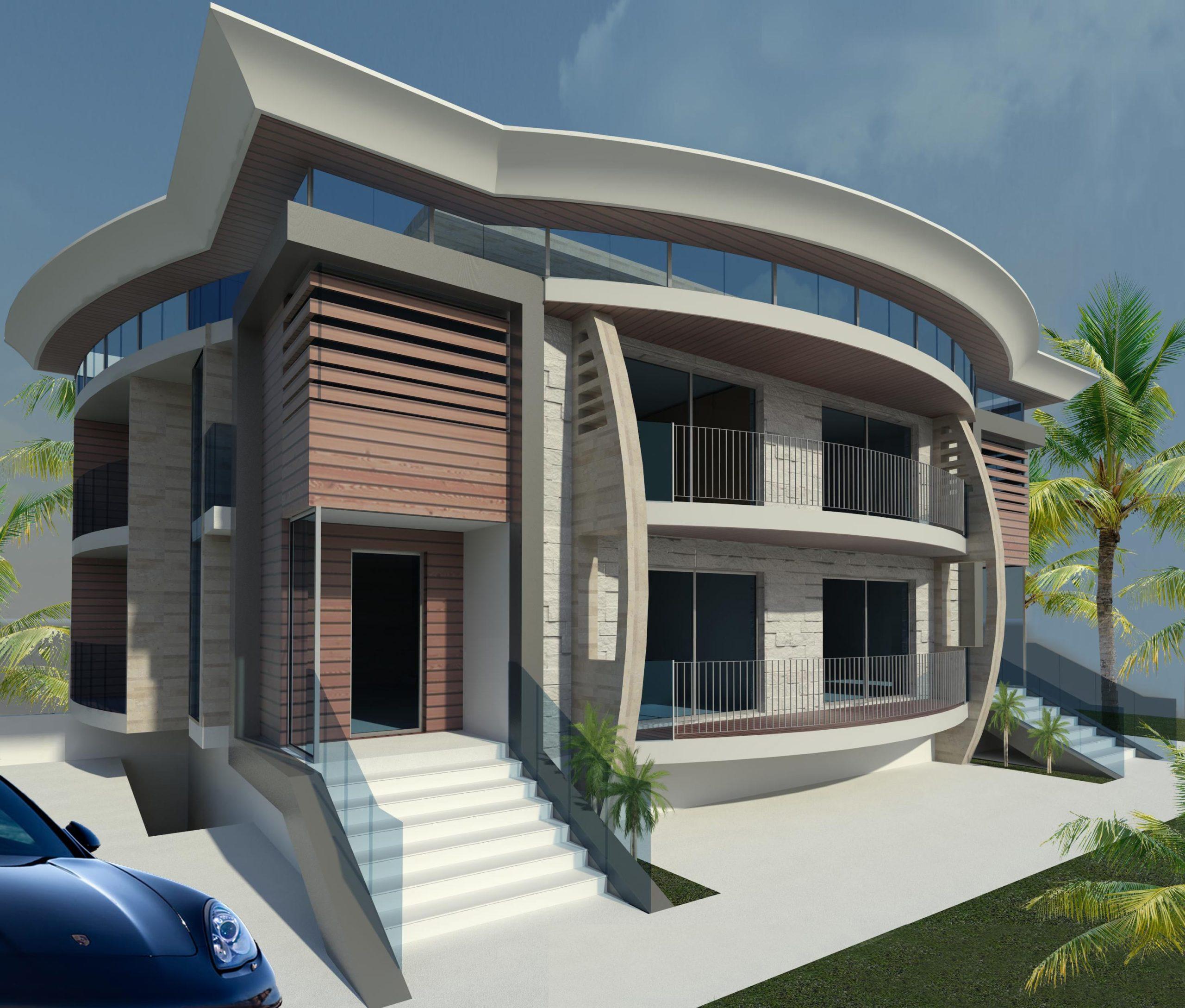 Villa Unifamiliare tre piani 2